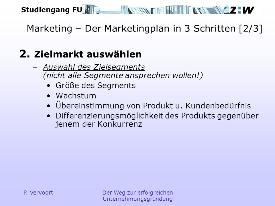 Marketing – Der Marketingplan in 3 Schritten [2/3]